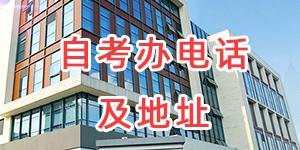 江苏省各市、区县自考办电话和地址